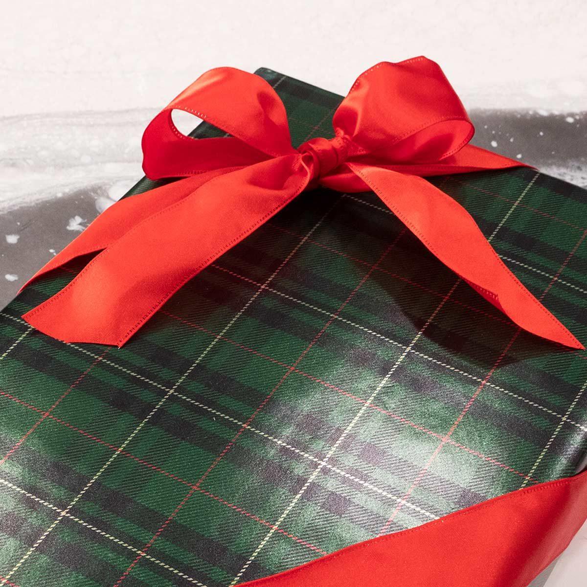 classic wrap bow lede