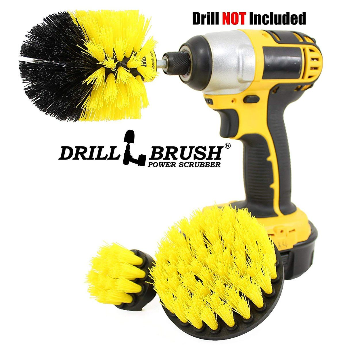 drill brush cleaning tool