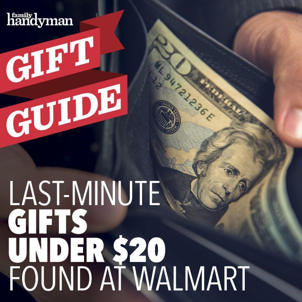 last minute gifts at walmart