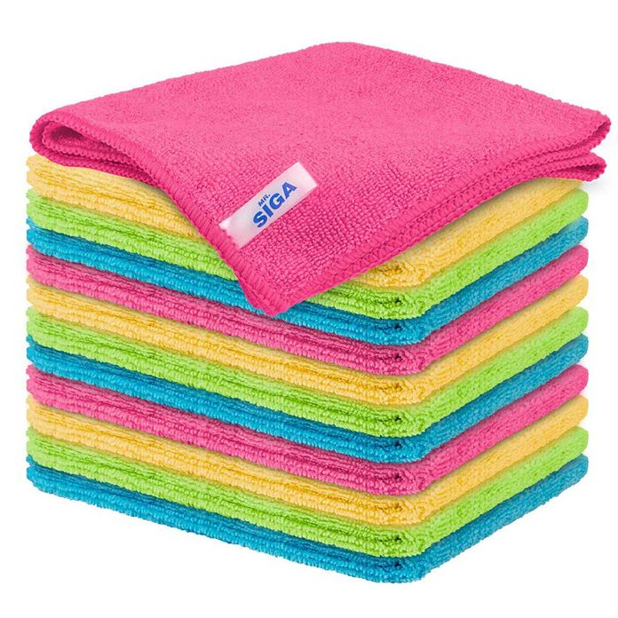 Microfiber cleaning clothes