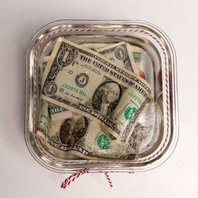 cold hard cash white elephant gift