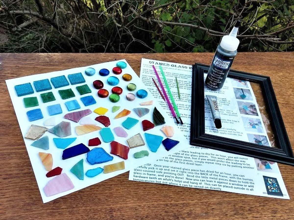 DIY stained glass kit