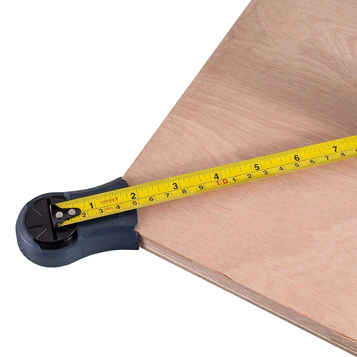 Square check tape measure tool
