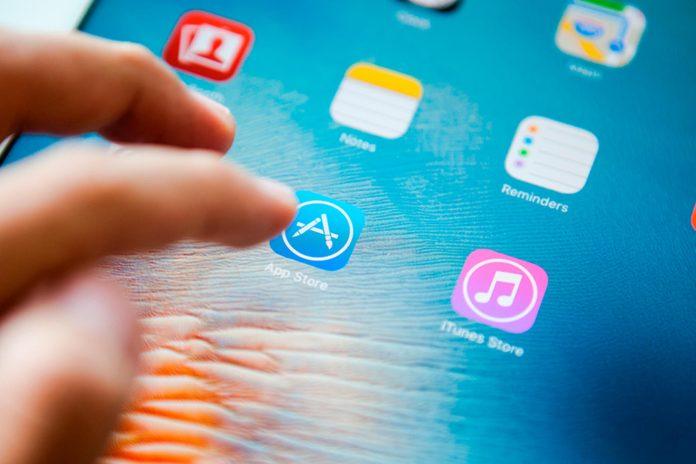 App store icon on ipad