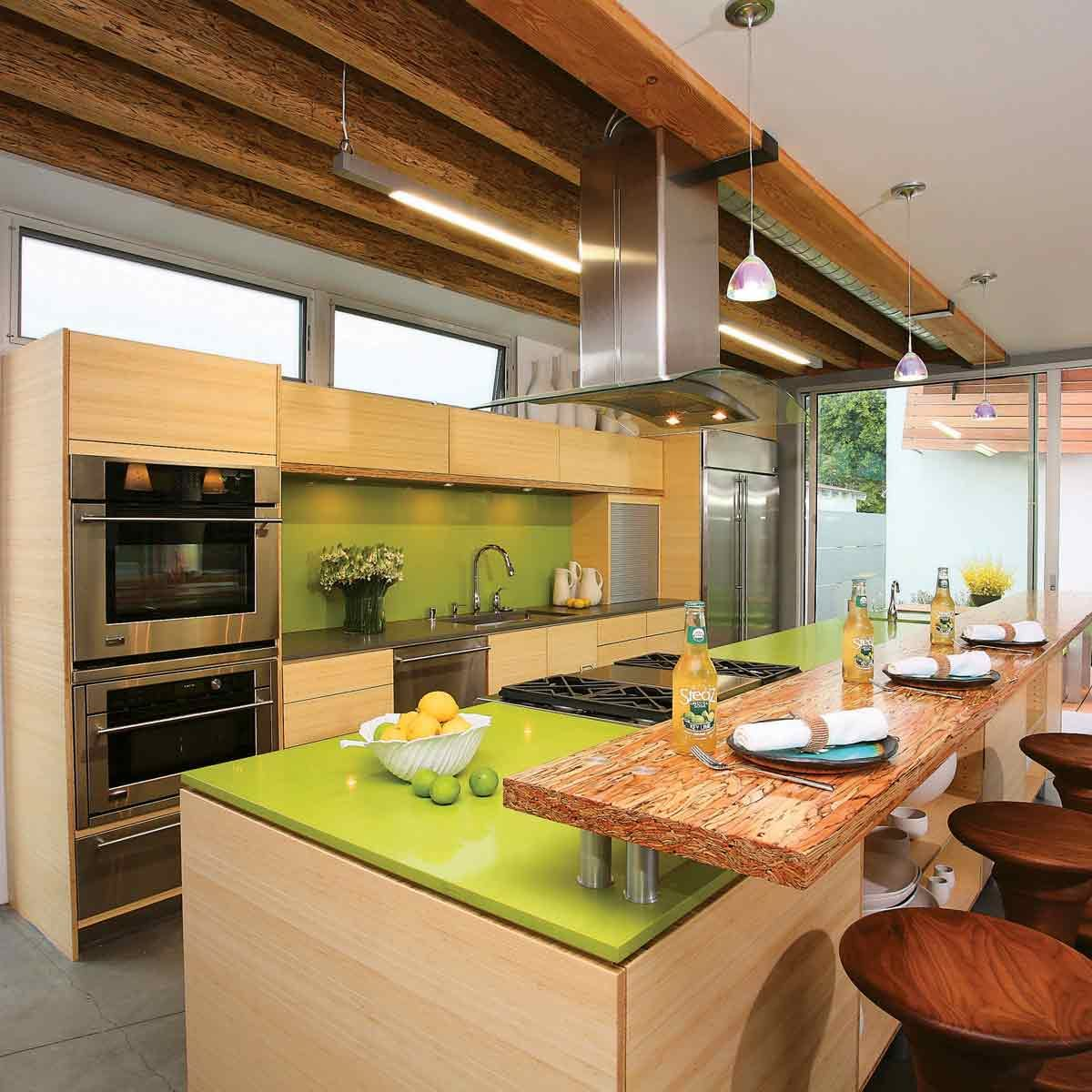 Avocado-Green-Kitchen