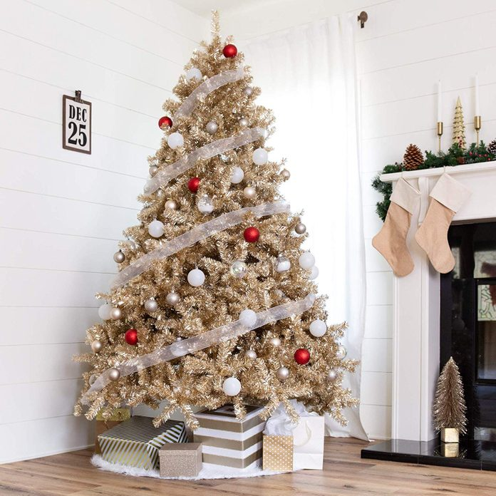 Champagne Christmas Tree