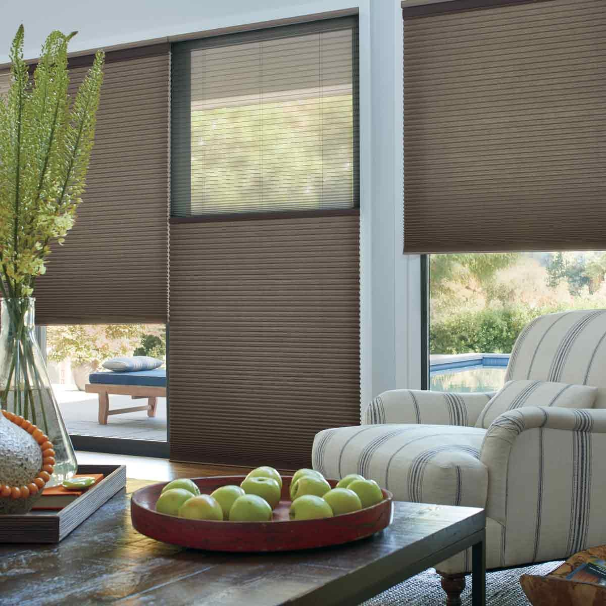 Hunter-Douglas-Duette-Shades-with-PowerView-Motorization-Living-Room
