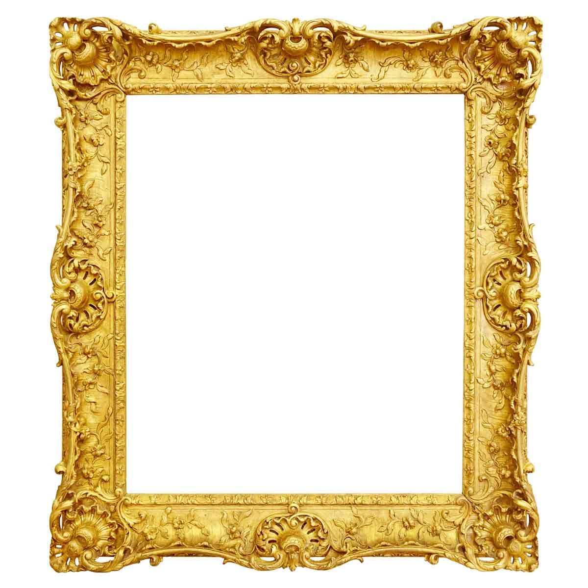Ornate-Gold-Picture-Frame