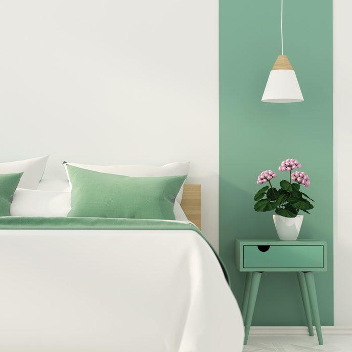 monochromatic room color design bedroom