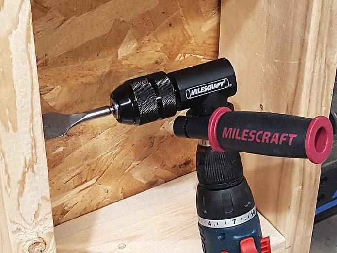 Milescraft Heavy-Duty Right-Angle Drill Attachment