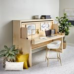 See Family Handyman's Murphy/Bed Desk in Action