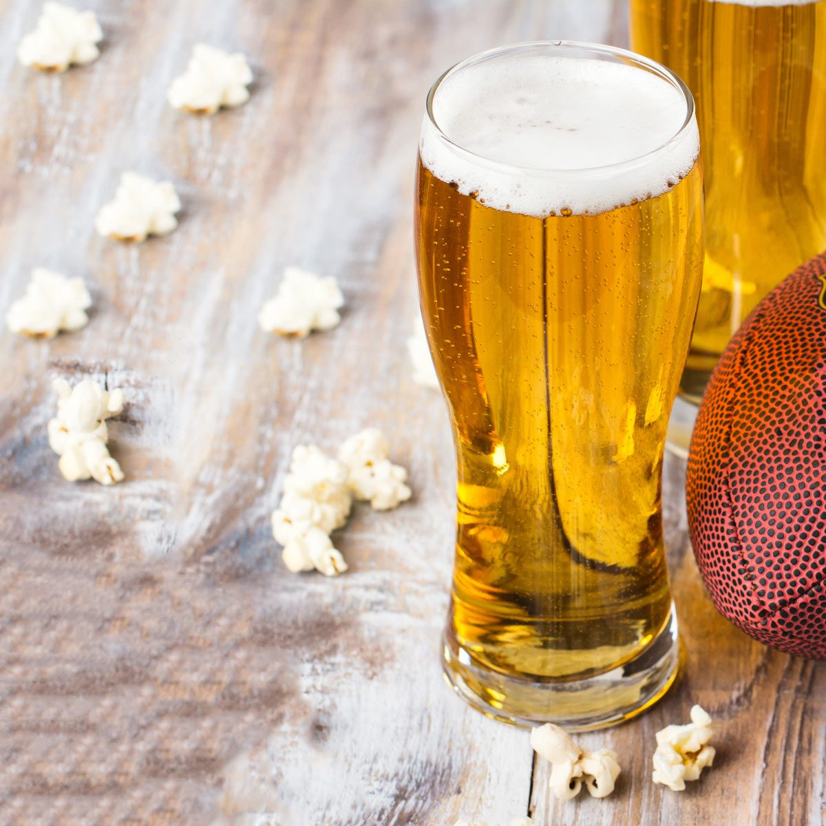 beer football party