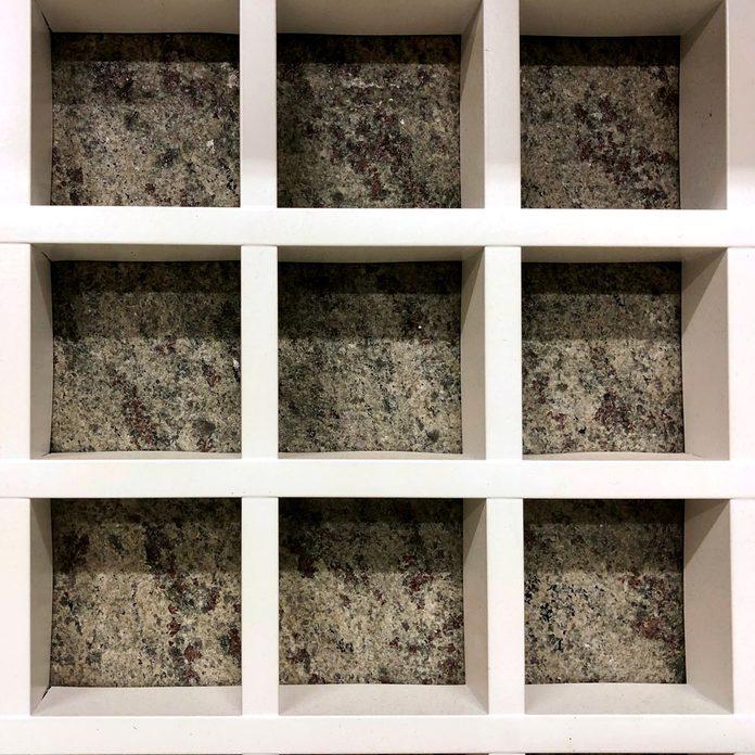 stone-look self adhesive paper