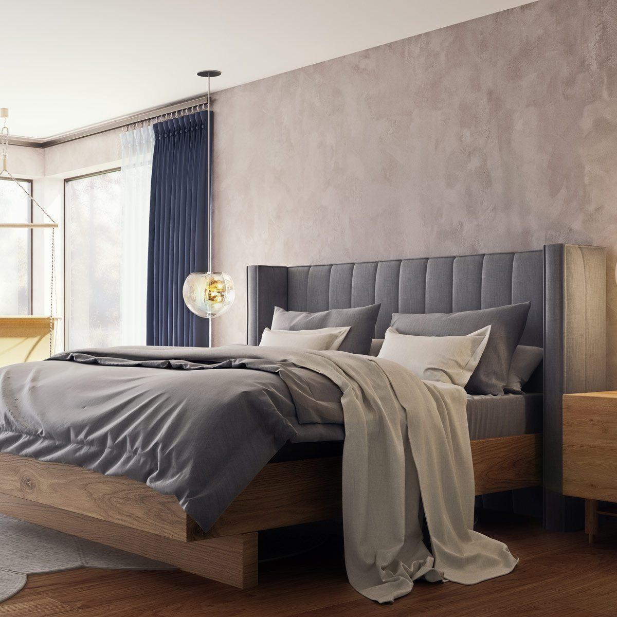 tufted headboard bedroom Gettyimages 1221004812