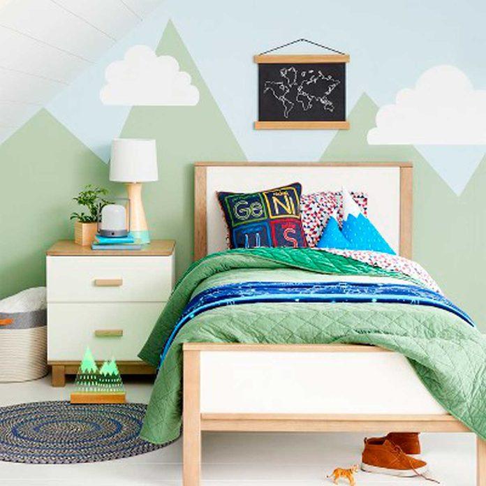 campsite bedroom