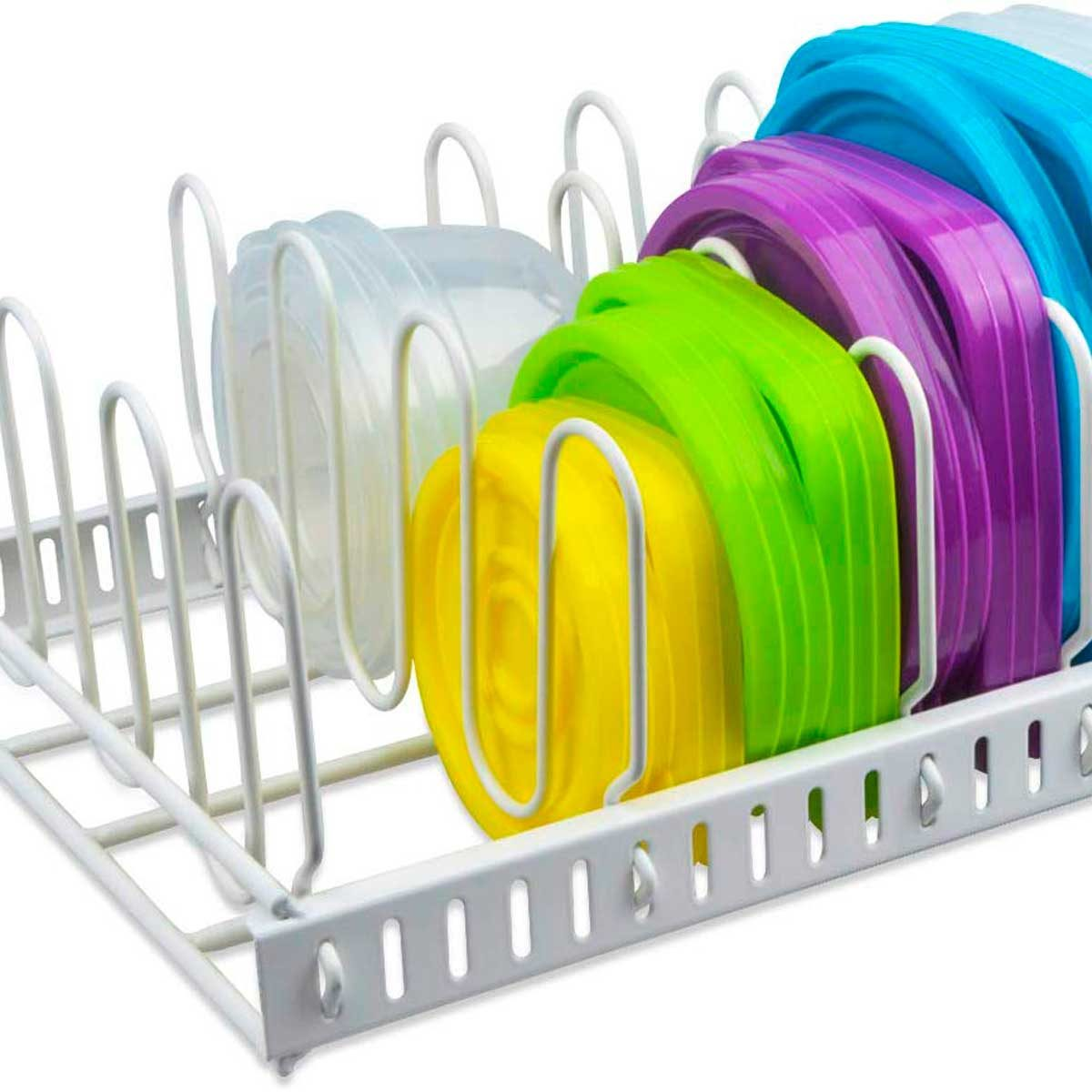 plastic container organizer