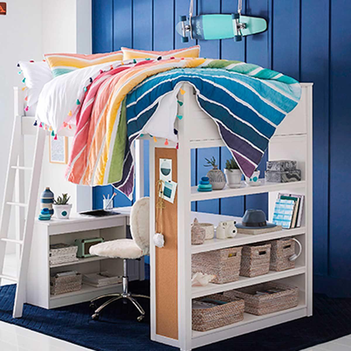 shiplap bedroom