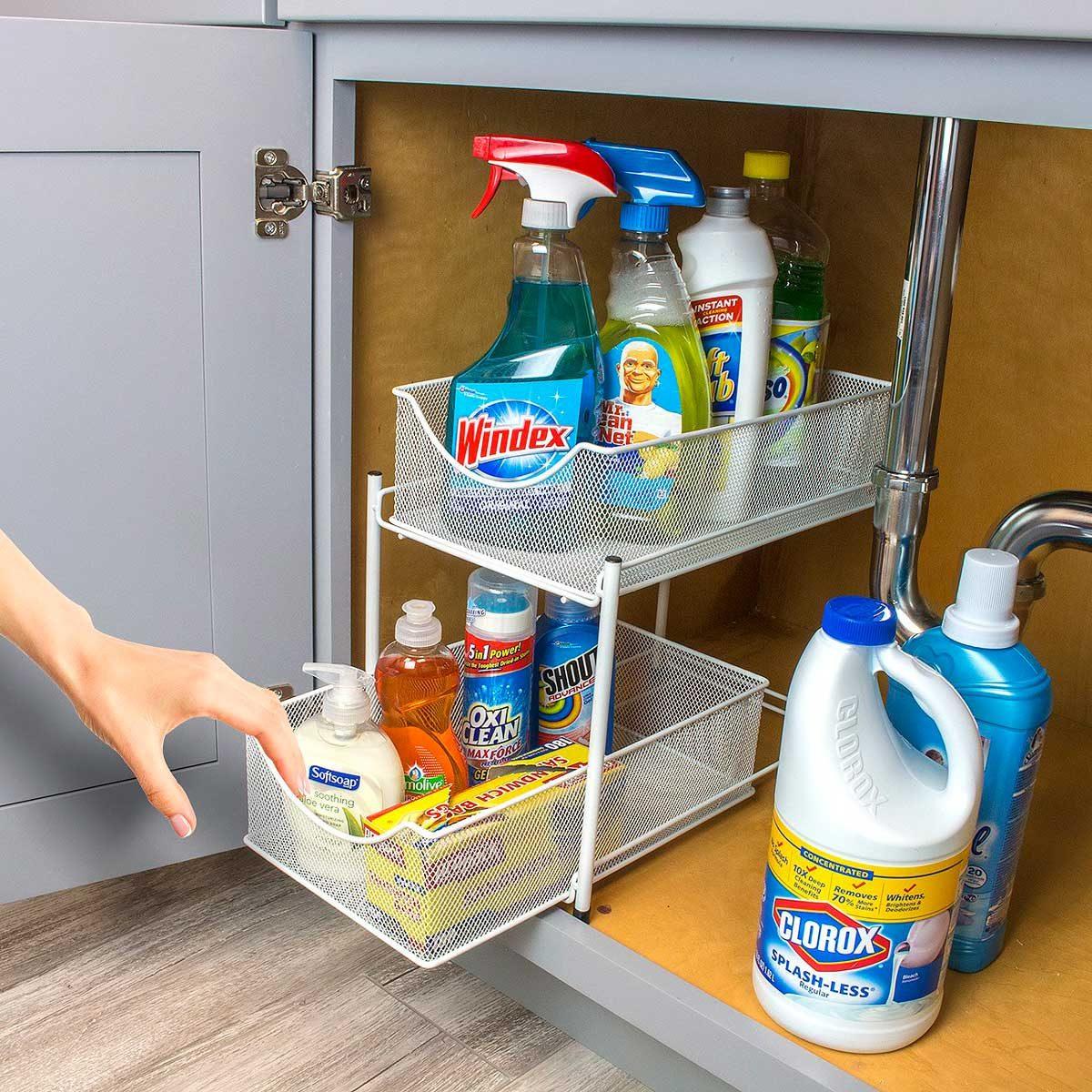 two-drawer organizer