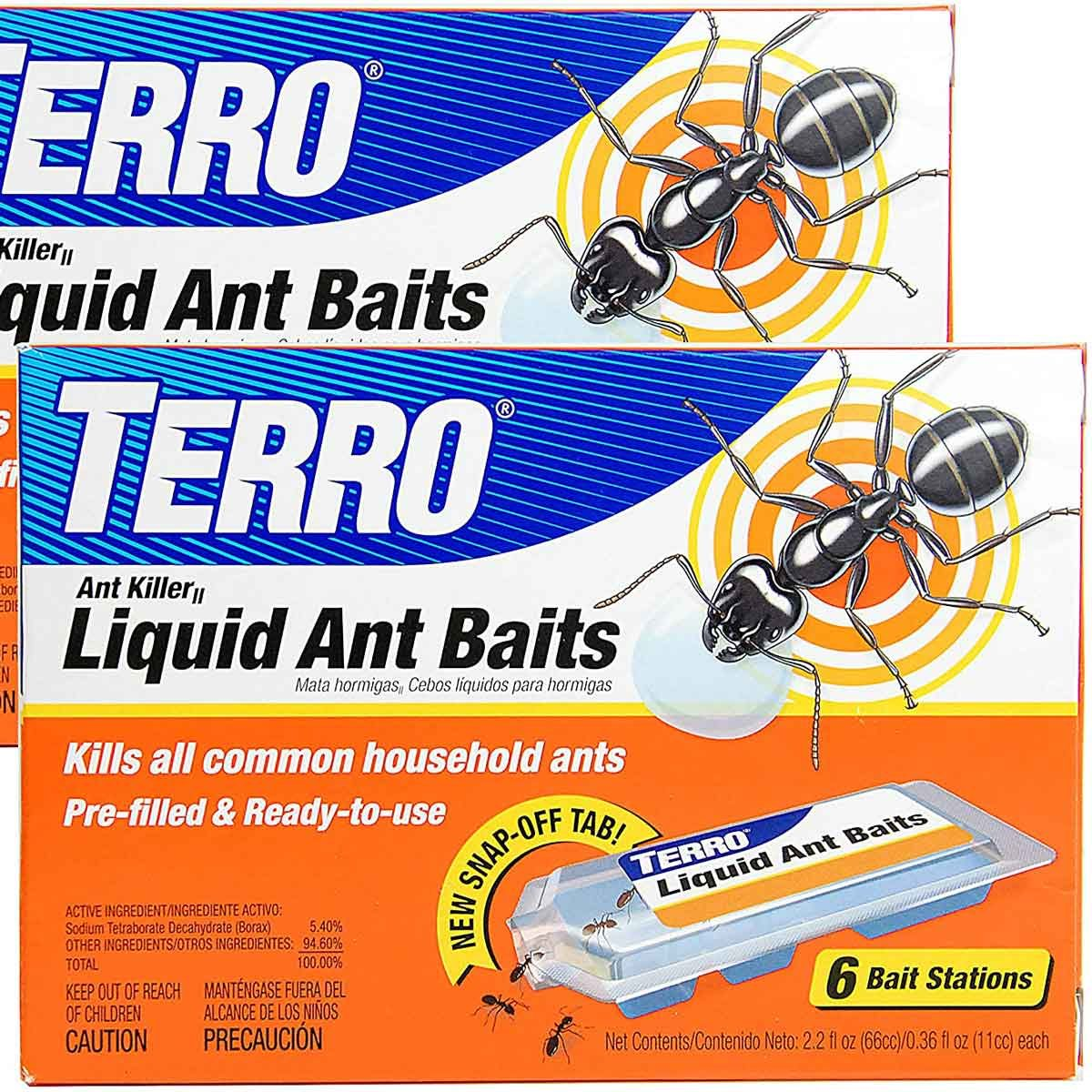 Package of Terro ant baits