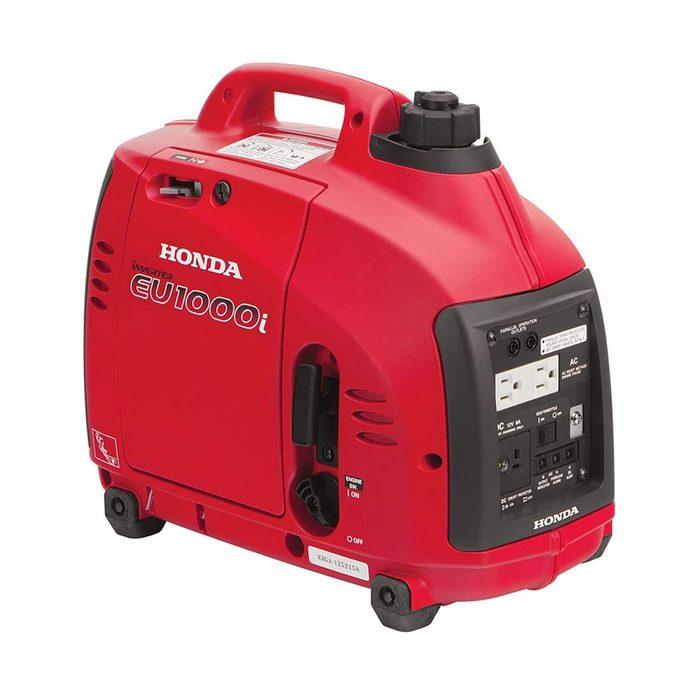 Photo of a compact Honda generator