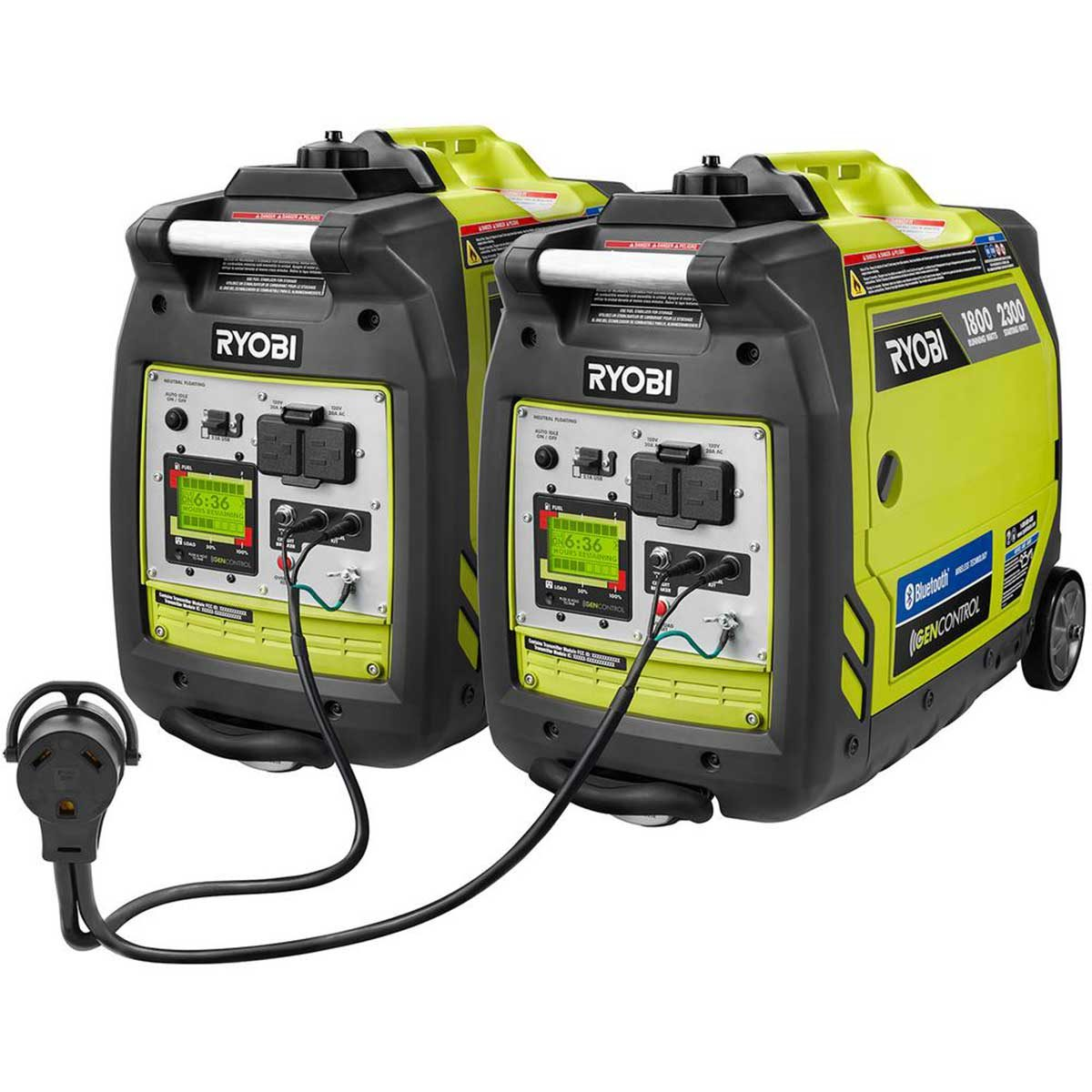 Photo of Ryobi generators