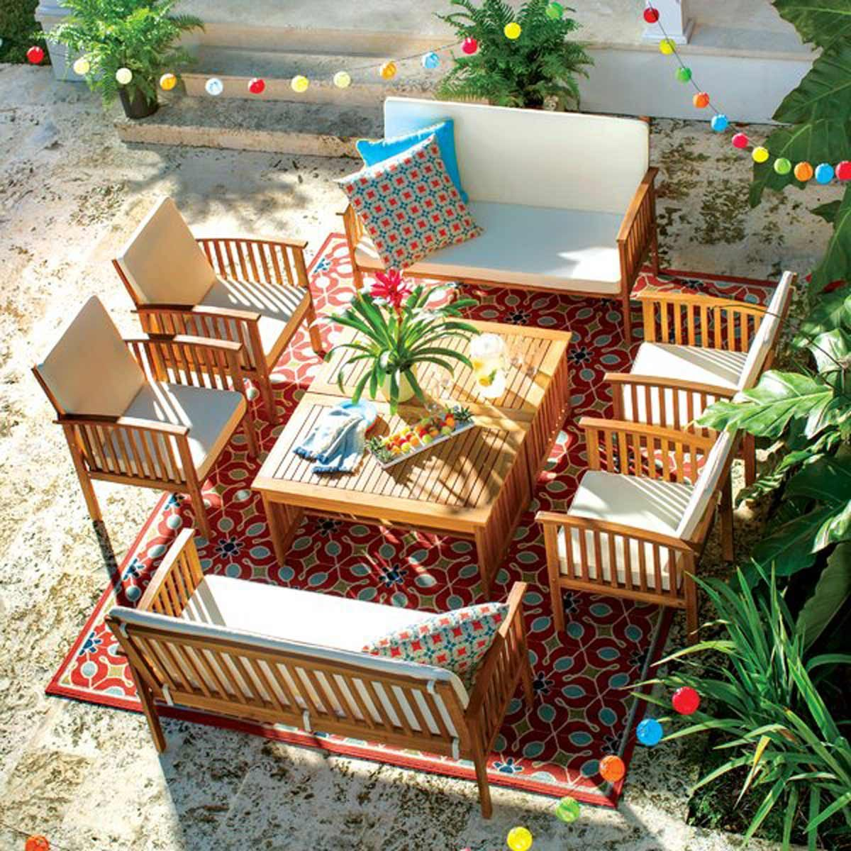 outdoor furniture patio set from wayfair.com