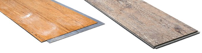 thin vs thin vinyl flooring