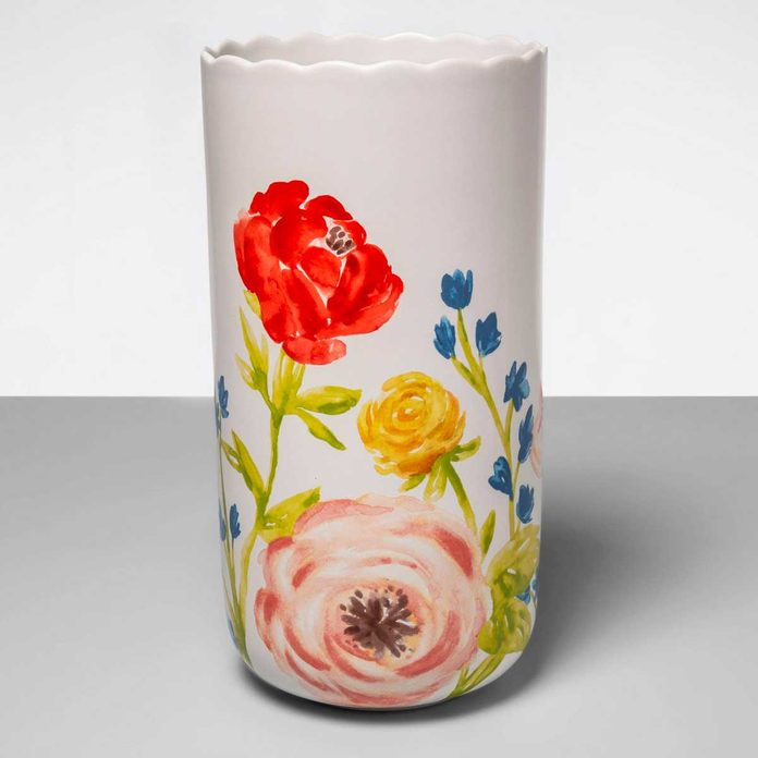 target floral vase