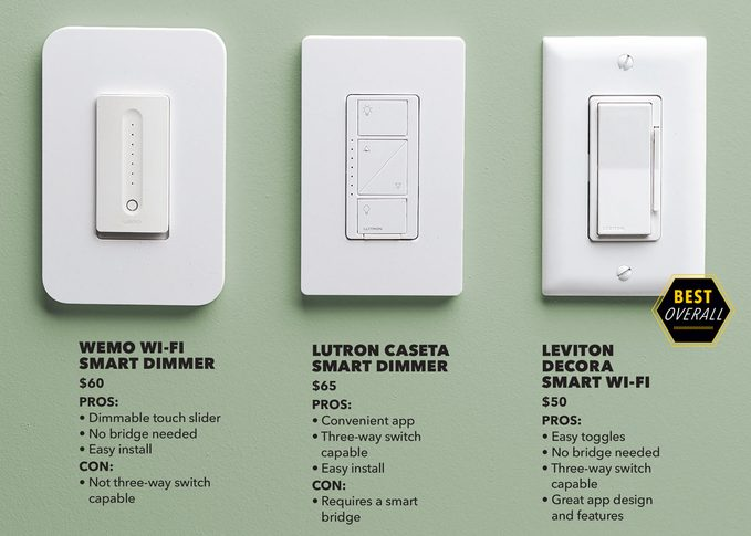 homeLab smart dimmer switches