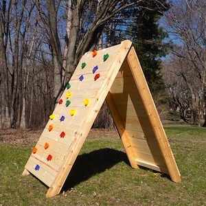 How to Build a Kids Climbing Wall