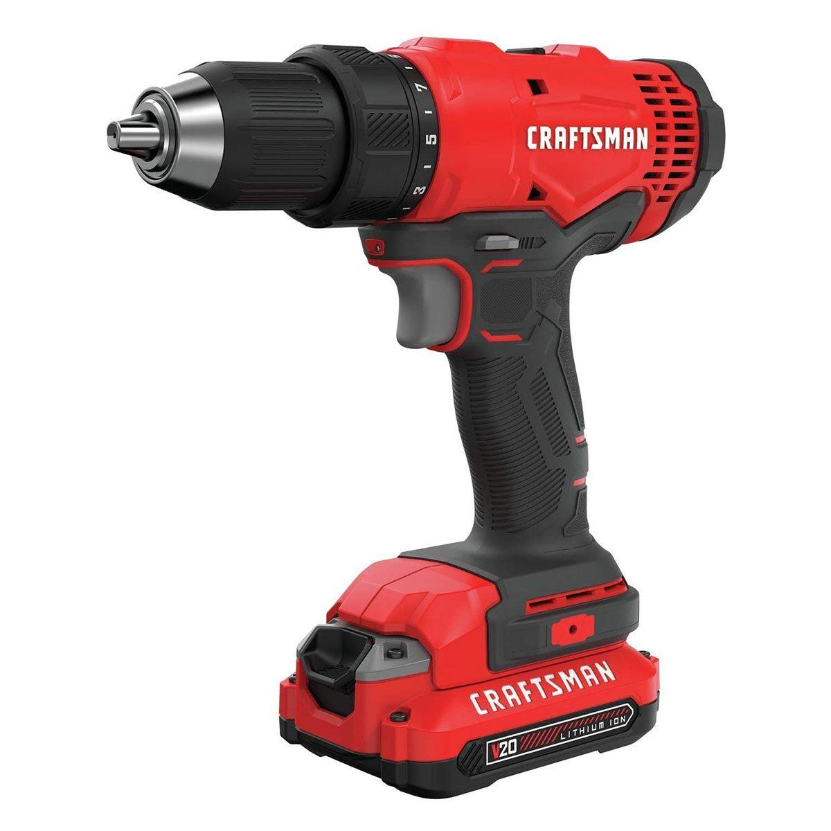 Craftsman V20 cordless drill