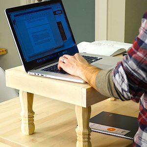 How to Build an Easy Stand-Up Desk