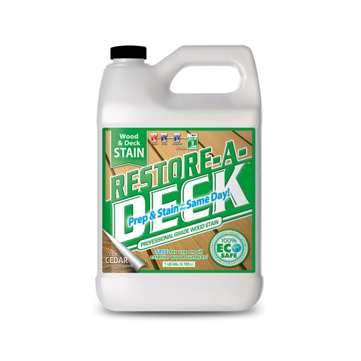 Jug of Restore-a-Deck stain