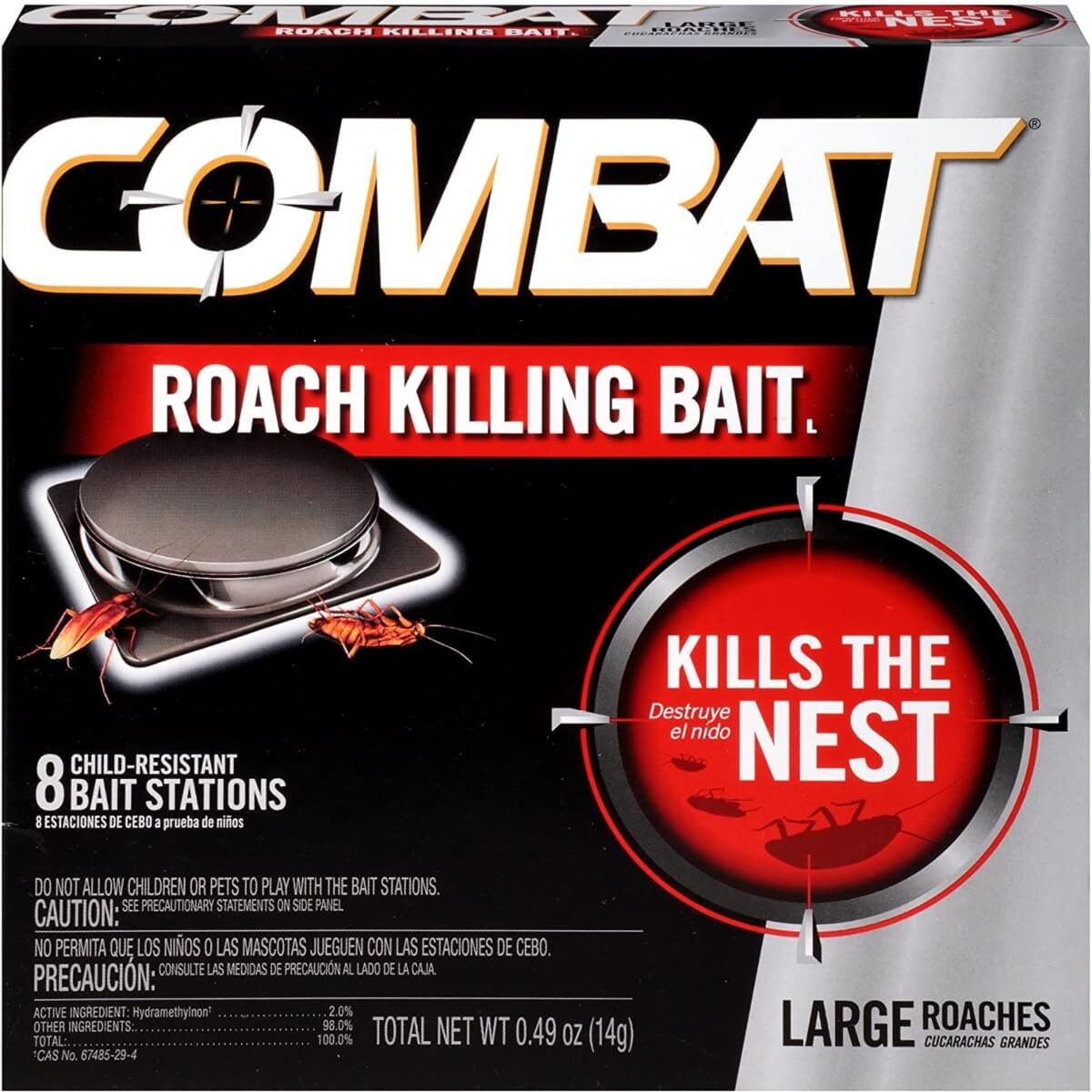 combat cockroach trap