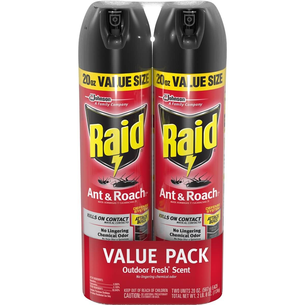 raid roach killer spray