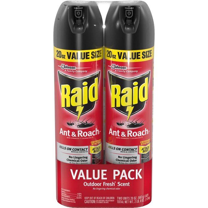raid roach killer spray