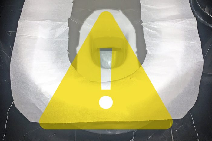 toilet seat covers be careful flushing