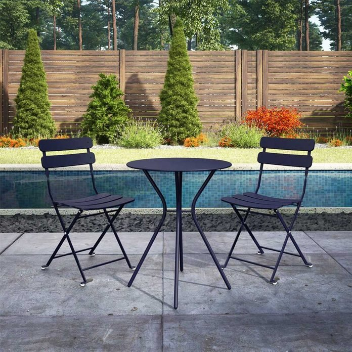 Patio 3 Piece Bistro Set