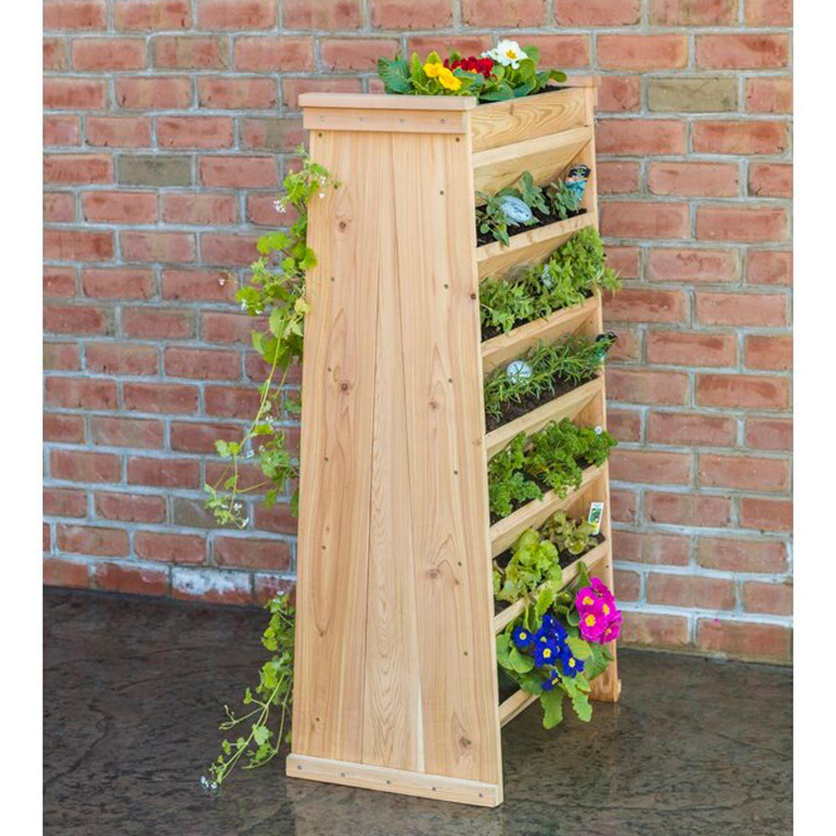 Cedar Vertical Garden