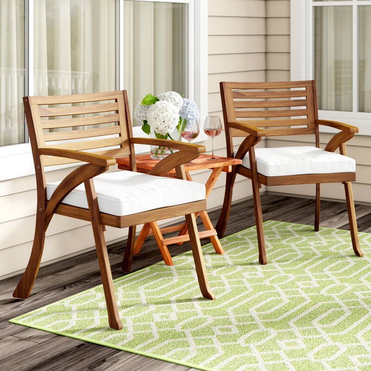 Patio Dining Chairs with Cushions