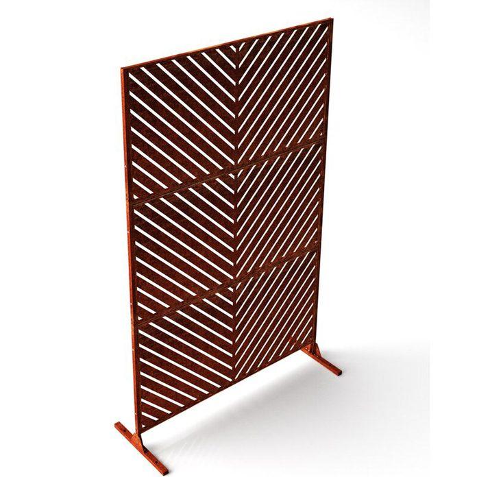 Arrow Decorative Privacy Screen