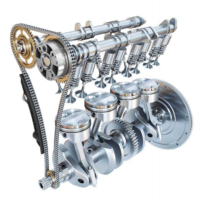 Camshaft and crankshaft system