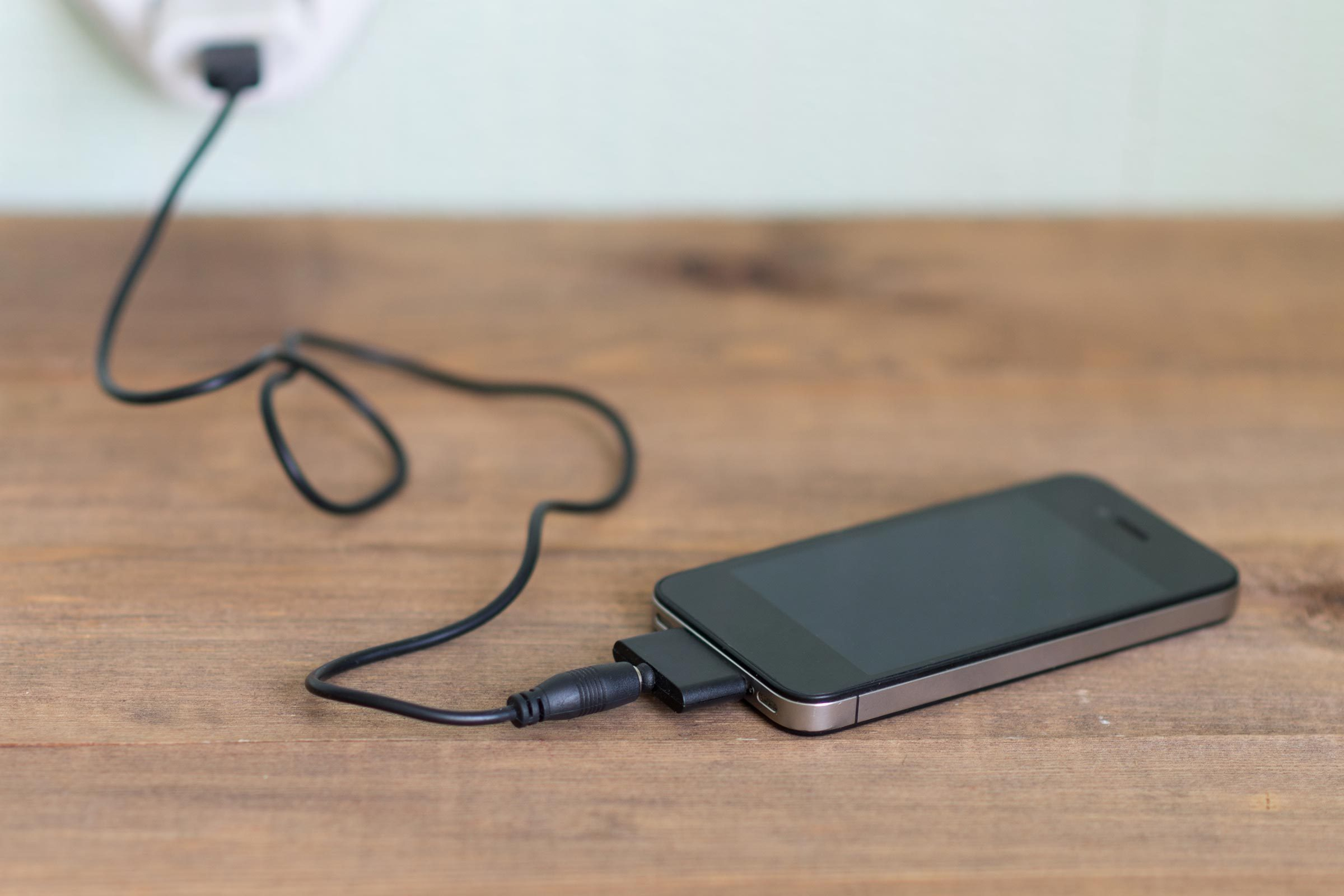 phone charge wall wire cord