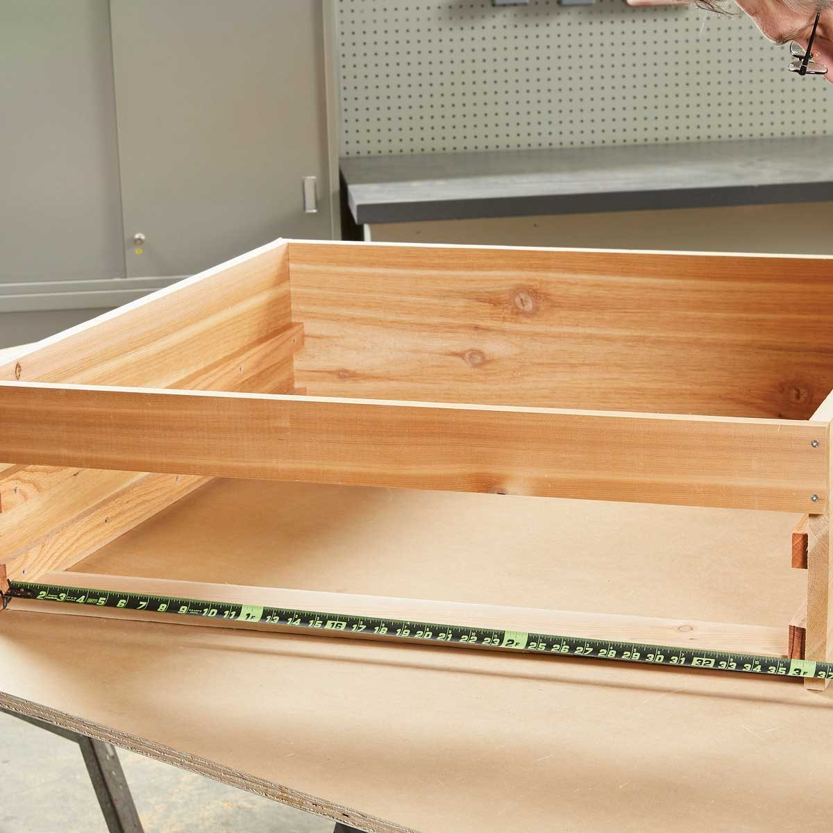 Measure for the drawer