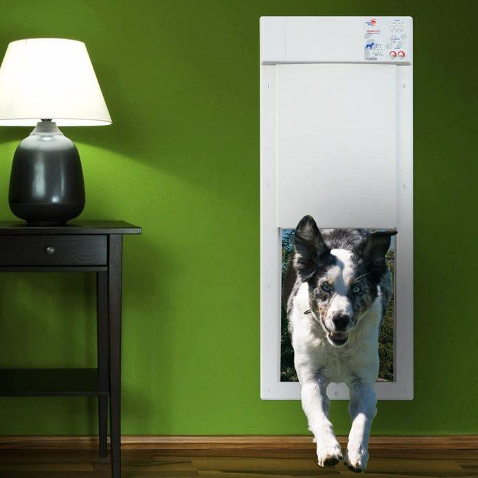 High Tech Pet Power Pet Electronic Pet Door
