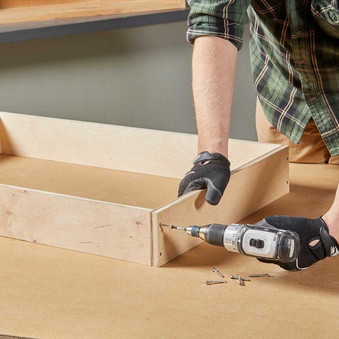 Assemble the drawer box