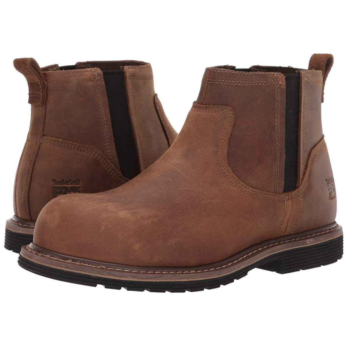 Timberland PRO Millworks Chelsea Composite Safety Toe work boots