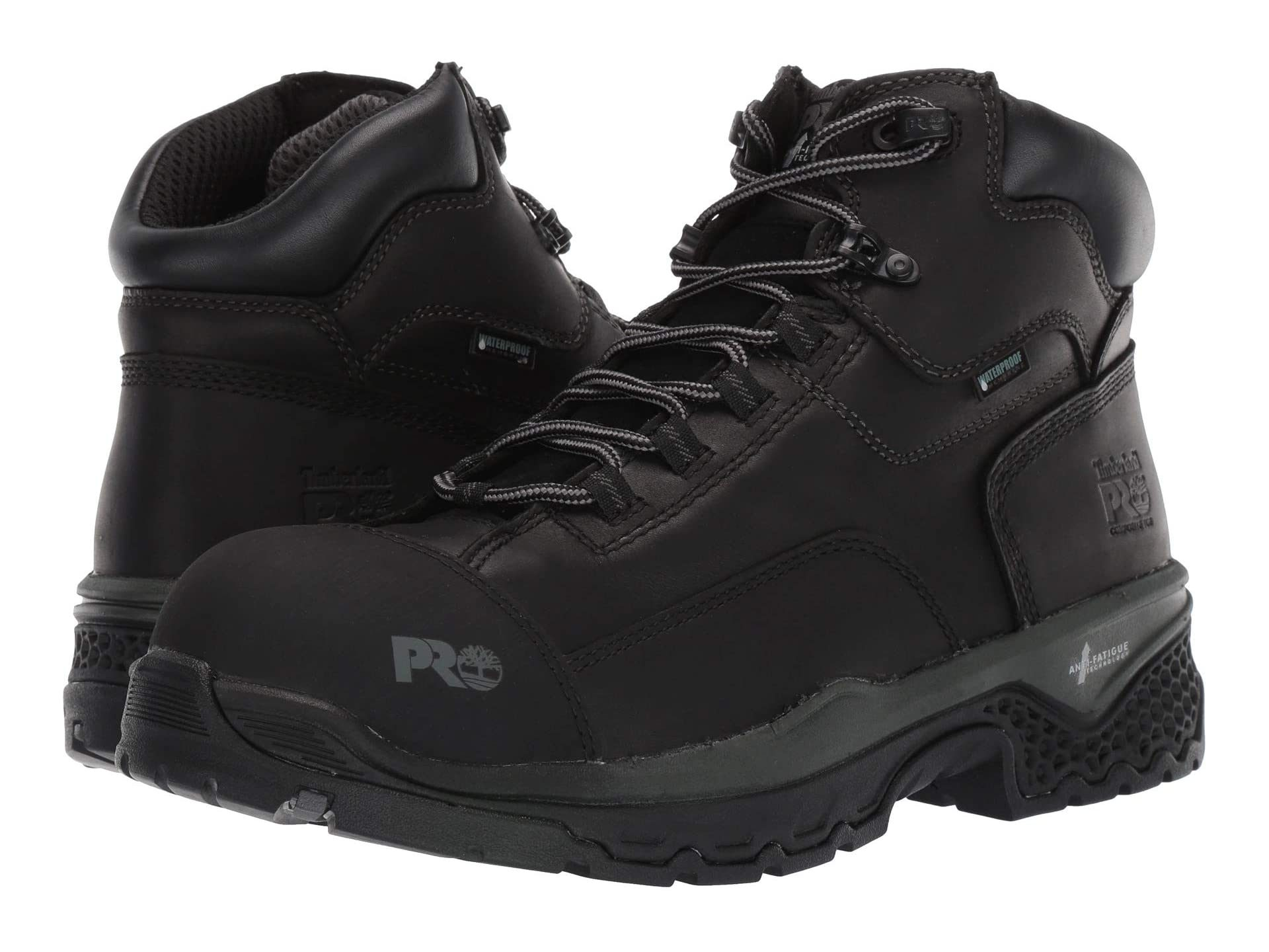 "Timberland PRO 6"" Bosshog Composite Safety Toe Waterproof work boot"