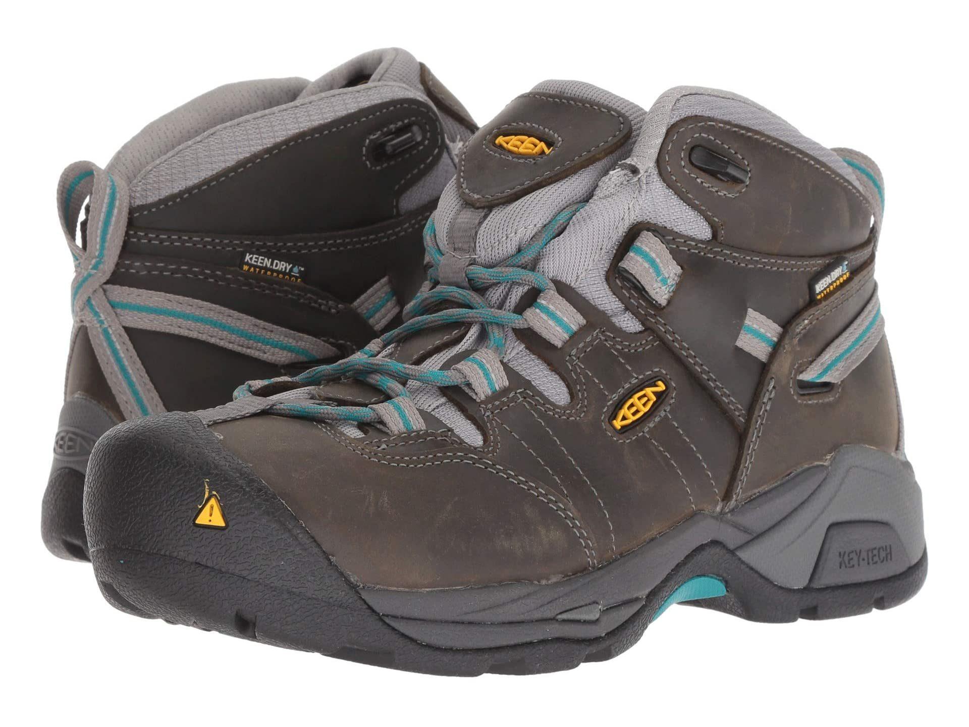 Keen Utility Detroit XT Mid Steel Toe Waterproof work boots