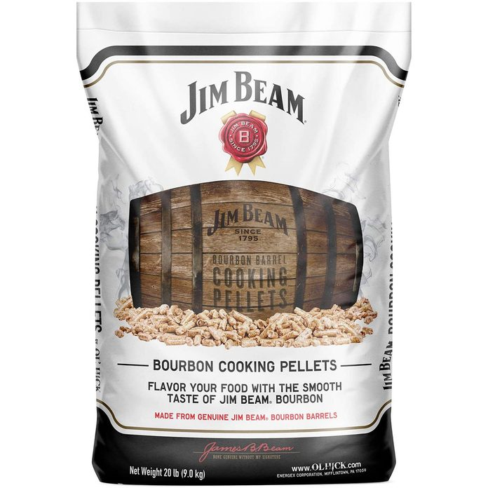 Jim Beam wood pellets